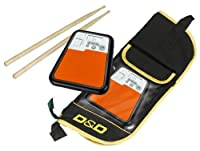 Drum Practice Pad, Metronome & Stick Bag from Cherub
