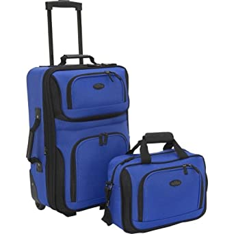 Click to buy Best Carry On Luggage: US Traveler Rio Two Piece Expandable Carry-On Luggage Setfrom Amazon!