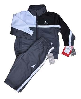 Nike Air Jordan Boys Jogging Suit Black, Dark Grey and ...