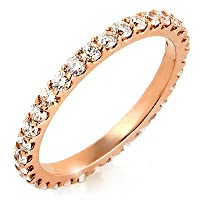 Share prong eternity band