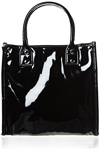 danielle-high-gloss-pvc-lunch-tote-black