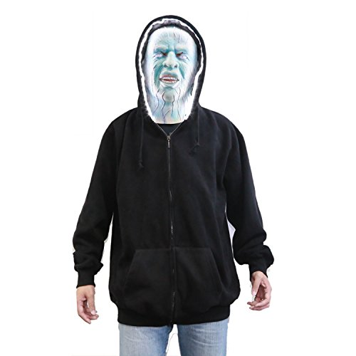 Cool Electro Jacket Hoody With Led Light In X-Large