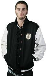 LRG Mens Hale Yarvard Letterman Jacket