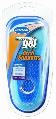 Dr. Scholl's Arch Supports Massaging Gel Women's UK 3-8(US 5-10) (Case of 6)