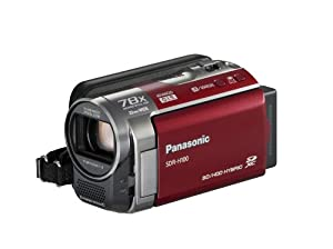 Panasonic SDR-H100R Camcorder (Red)