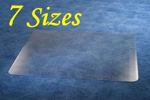 FloordirektPRO Office Chair Mat - 120x183cm - Carpet Protection - 100% Polycarbonate