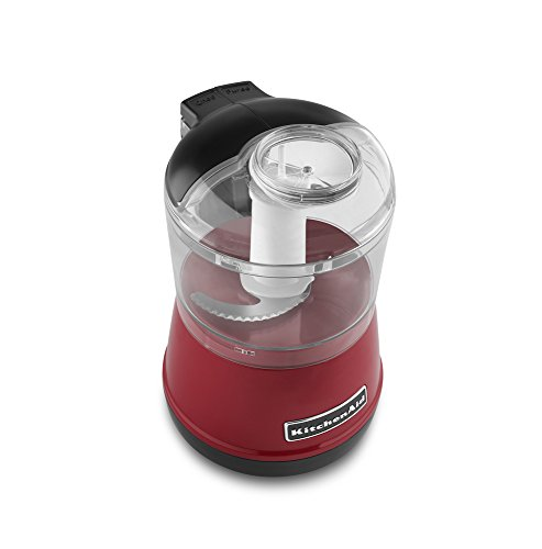 KitchenAid KFC3511ER 3.5-Cup Food Chopper - Empire Red (Kitchen Aid Food Processor Mini compare prices)