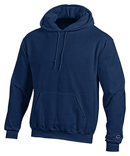 Champion Double Dry Action Fleece Pullover Hood, Navy, L (Champion Heavyweight Socks compare prices)