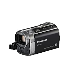 Panasonic SDR-T70K Camcorder (Black)