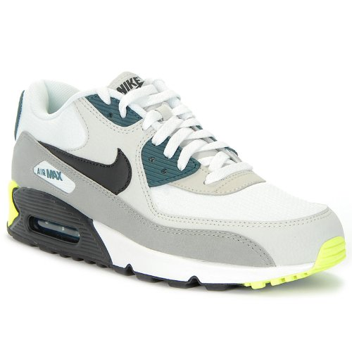 Nike Air Max 90 Essential White Grey Mens Trainers Size 10 US ...