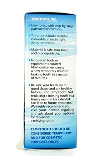 Temptooth 1 Seller Trusted Patented Temporary Tooth
