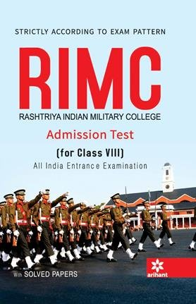 Rashtriya Indian Military College (RIMC) Admission Test for Class VIII