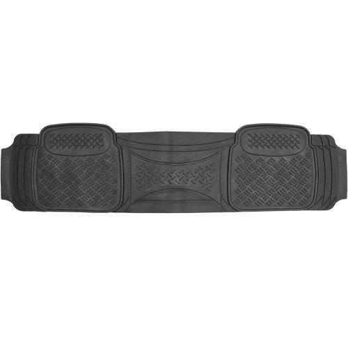 oxgord 1pc diamond rear floor mat for scion tc black. Black Bedroom Furniture Sets. Home Design Ideas