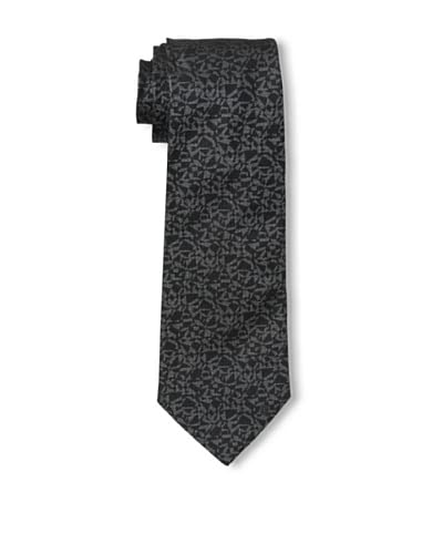 Givenchy Men's Abstract Tie, Grey/Black