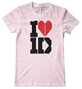 I Heart One Direction American Apparel T-Shirt