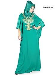 MyBatua Ayana Kaftan Muslim Long Jilbab Abaya Dress KF-021