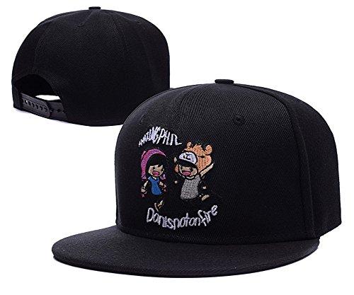 yili-dan-and-phil-logo-adjustable-snapback-caps-hats