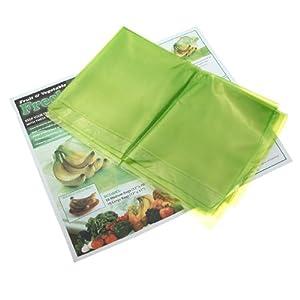 20pcs Vegetable Fruit Produce Food Fridge Storage Fresh Bags