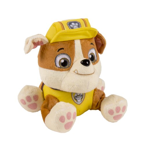 Nickelodeon, Paw Patrol - Plush Pup Pals- Rubble - 1