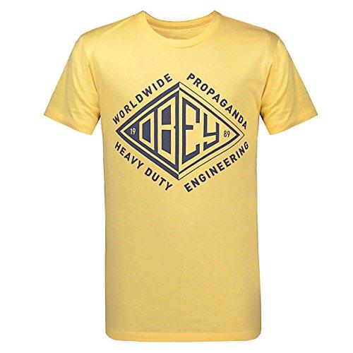 (オベイ) OBEY メンズ Tシャツ Diamond Label T-Shirt [並行輸入品]