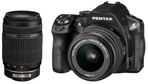 Pentax K-30  18-55mm and 55-300mm DA L Lens Kit