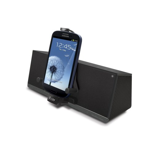 Iluv Mobidock Stereo Speaker Dock For Galaxy S2/S3/Note And Touch