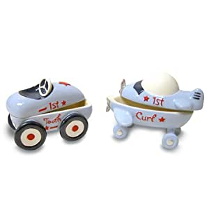 Baby Essentials Tooth and Curl Boxes, Little Racer (Discontinued by Manufacturer)