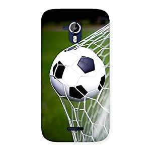 Cute Goal Green Back Case Cover for Micromax Canvas Magnus A117