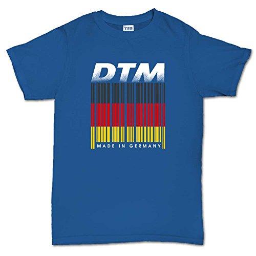 DTM-Racing-Germany-Barcode-Mens-T-shirt