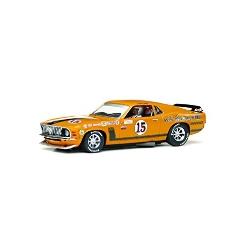 Scalextric-C3651-Ford-Mustang-Boss-302-1969-Trans-Am-Championship-Parnelli-Jones-Slot-Car-132-Scale