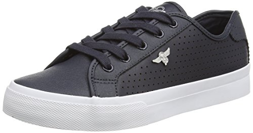 Creative Recreation - Kaplan, Sneakers da uomo, blu (navy/white perf), 44