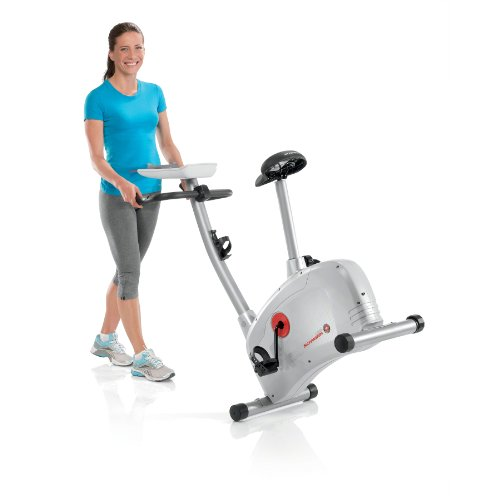 You can put the Schwinn 120 Exercise Bike anywhere in your home!