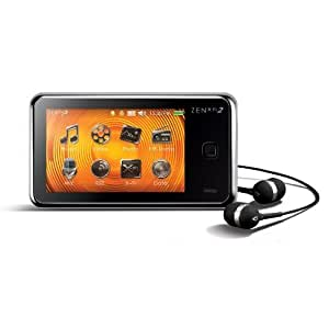 Creative Labs ZEN X-Fi2 8 GB MP3 and Video Player with Touchscreen and Built-In Speaker (Black)