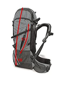 Wilsa Hiker 45 litre rip-stop backpack for mountains gear-heavy hiking 1600 g by Wilsa