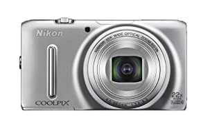 Nikon COOLPIX S9500 18.1 MP Digital Camera with 22x Zoom and Built-In Wi-Fi (Silver)