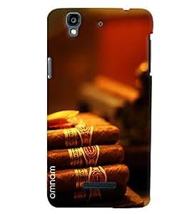 Omnam Bunch Of Cigar Printed Designer Back Cover Case For Micromax Yureka