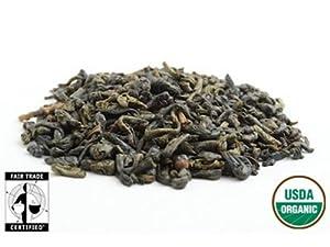 Fair Trade Organic Gunpowder Loose Leaf Green Tea