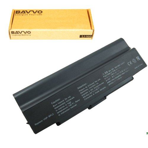 Click to buy SONY VAIO VGN-FS640/W Laptop Battery - Premium Bavvo® 12-cell Li-ion Battery - From only $31.98