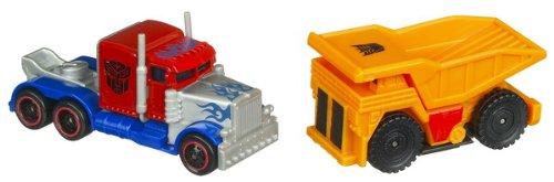 RPMs Mini Vehicle Two-Packs Series 01 - Optimus Prime Vs. Long Haul