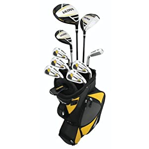 Wilson Men's Ultra Complete Golf Package Club Set, Right Hand