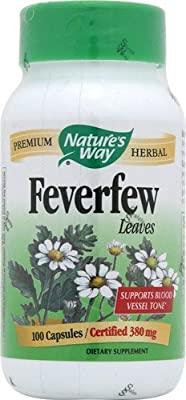 Nature's Way Feverfew Leaves -- 100 Capsules from Nature's Way