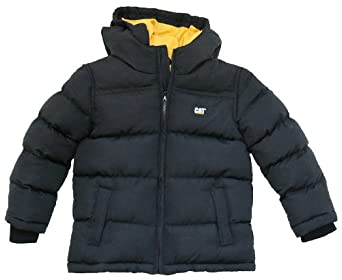 Caterpillar Kids K12607 Longsleeved Jacket Black Size 4 To 5