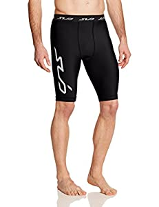 Sub Sports Cold Men's Thermal Compression Baselayer Shorts - Black, Small