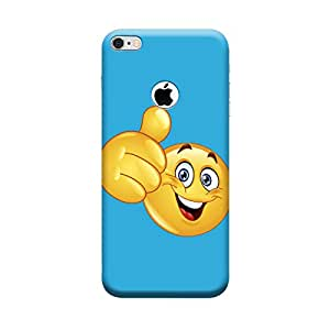 Qbic 3D High Quality Designer Mobile Back Case Cover For Apple iPhone 6 with Hole (Premium Matte Finishing Back Case)