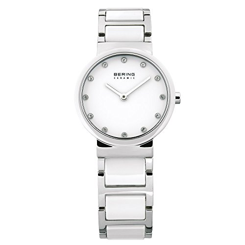 Bering Time Women's Analogue Quartz Watch 10729-754 Ceramic