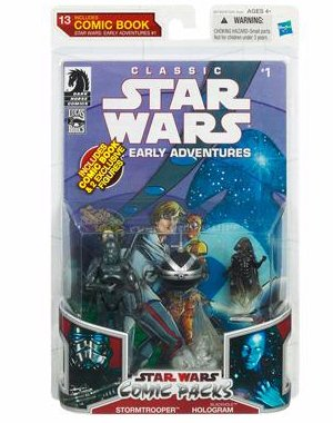 Buy Low Price Hasbro Star Wars: Legacy Collection Wave 7 Stormtrooper & Blackhole Hologram Action Figure Comic Pack (B003DQSG22)