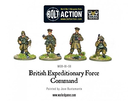Early War British Command Miniatures