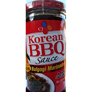 Korean BBQ Bulgogi Marinade (package of 3)