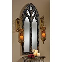 Design Toscano MH10345 Gothic Cathedral Arch Mirror by Design Toscano