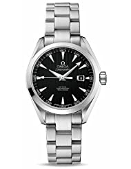 NEW OMEGA AQUA TERRA AUTOMATIC LADIES WATCH 231.10.34.20.01.001